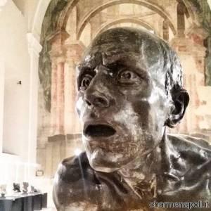 Particolare di scultura napoletana