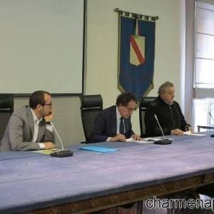 L'assessore al Turismo e ai beni culturali della regione Campania Pasquale Sommese illustra i dati definitivi dell'afflusso turistico a Napoli e in Campania durante le festività pasquali.