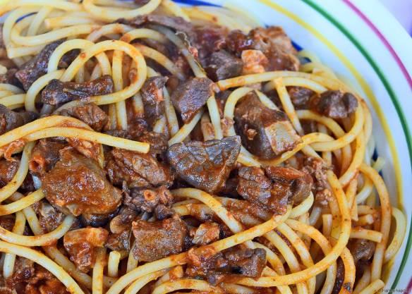 spaghetti al soffritto napoletano