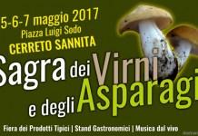 sagre campania maggio 2017 virni e asparagi cerreto sannita