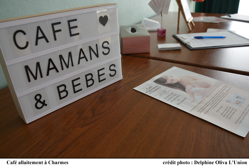 Informations du café allaitement à Charmes.