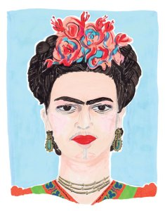 Artist Frida Kahlo by Grace Lee (Photo: Hilary Walker)