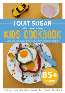 I Quit Sugar Kids Cookbook cover