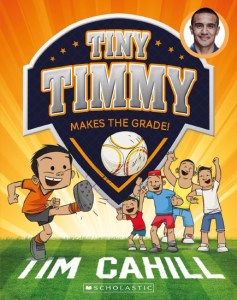 Tim Cahill, books about sport, books for boys