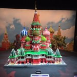 Lego model of the St Basil's Cathedral
