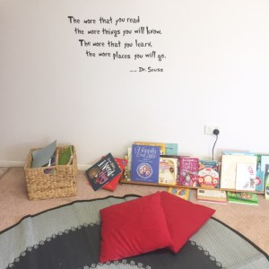 Get Kid Reading More Photo Of Home Reading Nook with books and cushions