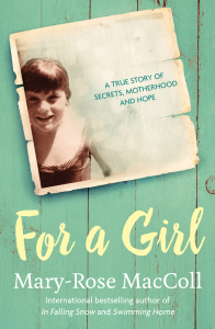 For A Girl book cover, shows photo of young girl