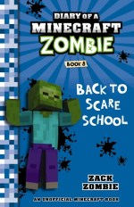 Minecraft Zombie book cover