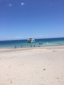 Moreton Island ocean views