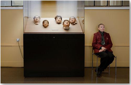 2nd Century Mummy Masks, Pushkin Museum - © Andy Freeberg