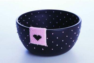 Schale aus der Beads und Pieces Kollektion