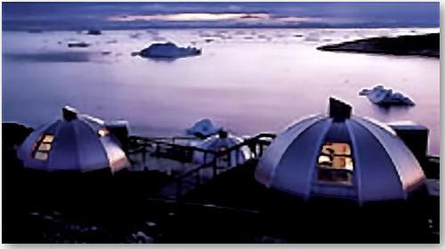 Iglus in Ilulissat