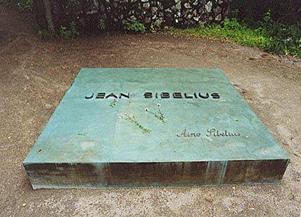 Grabstätte von Jean und Aino Sibelius