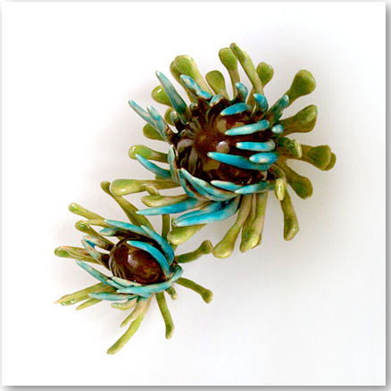 Thistles: (detail) - © Julia Bailey