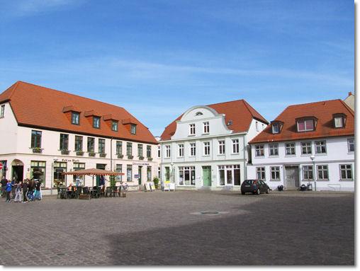 Marktplatz Teterow - © Liisa
