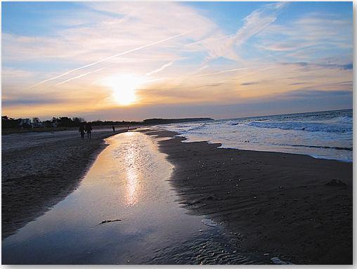 Abendstimmung an der Ostsee bei Warnemünde - © Liisa