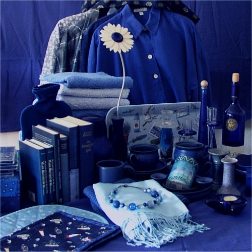 alles mögliche in blau - © Liisa