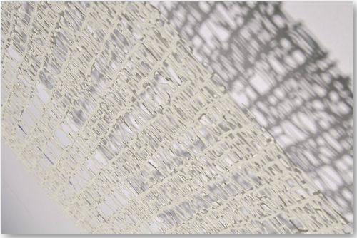 Absent Text I (detail) - © Pablo Lehmann