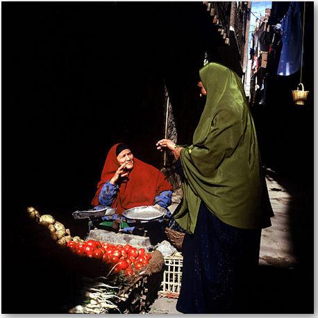 Aus der Serie Cairo Neighborhoods - © Rena Effendi