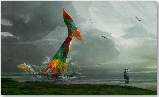 whales - © Sergei Ryzhov