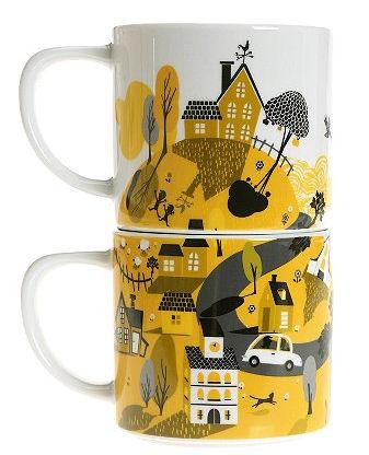 Neighborhood Mugs Set of 2 - © urbanoutfitters