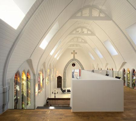 Wohnkirche in Utrecht - © Architekturbüro Zecc