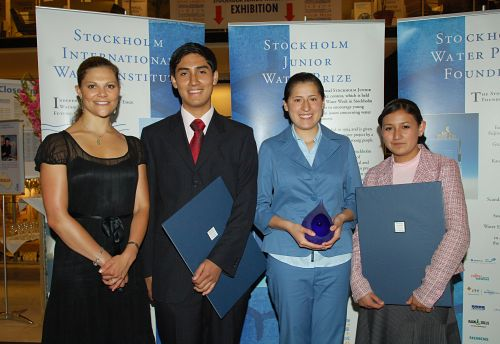 Gewinner des Stockholm Junior Water Prize 2007 - © Copyright SIWI and the World Water Week, 2007