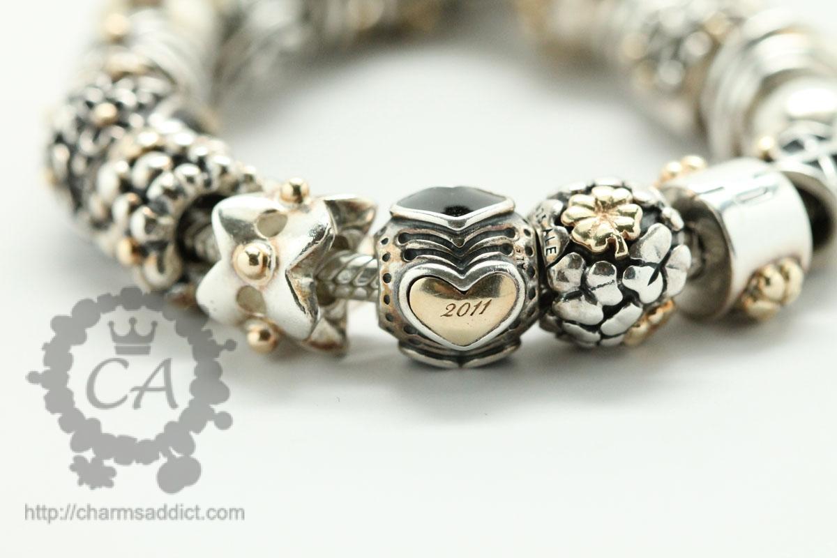 Pandora Two Tone Bracelet Ideas Jewelry FlatHeadlake3on3