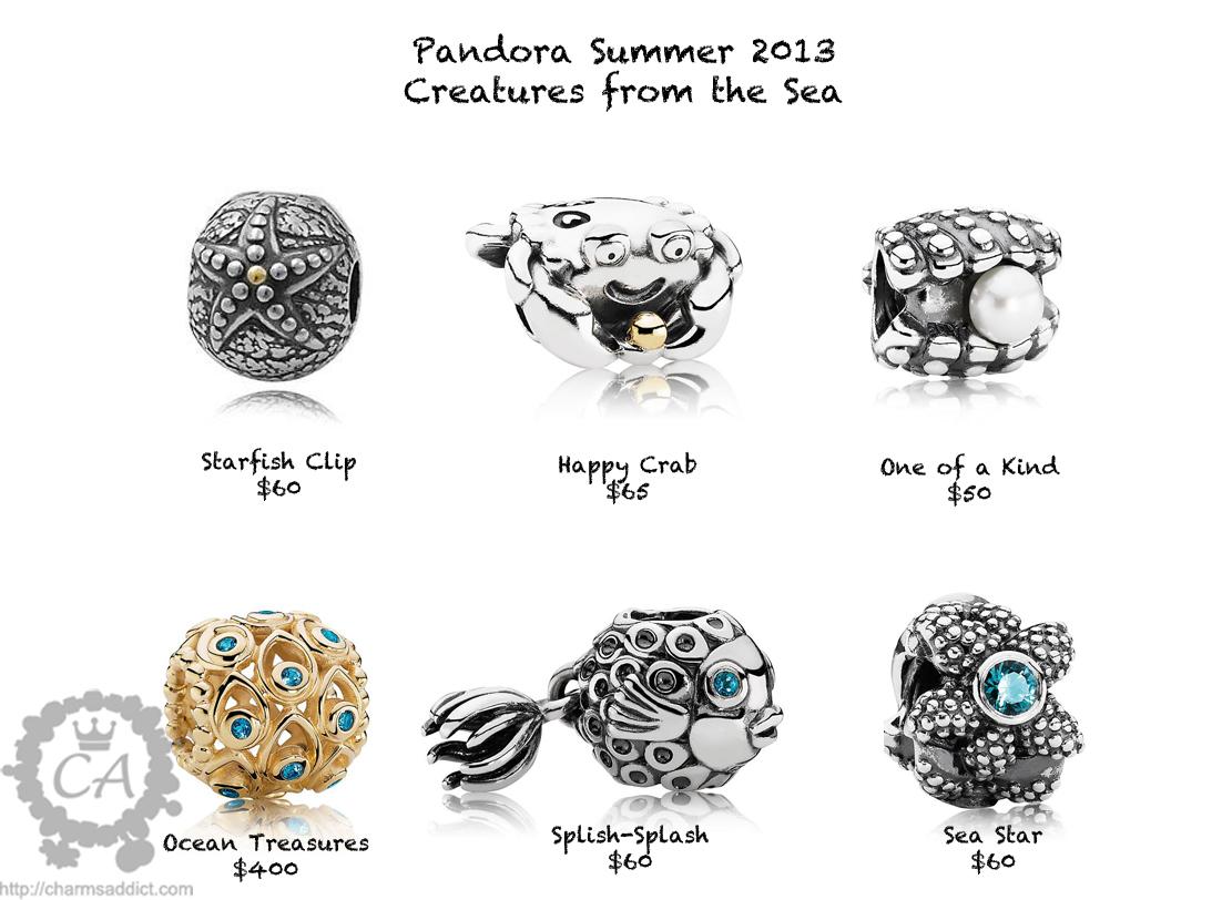 Pandora Summer Collection Prices And Live Photos