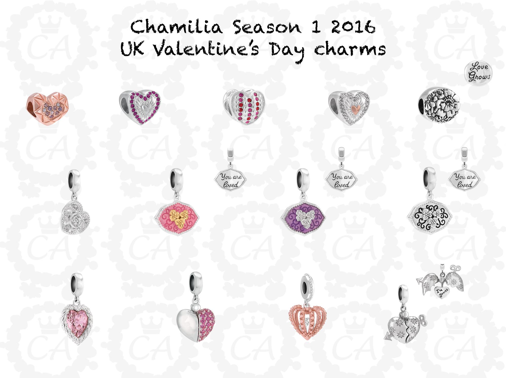 Chamilia Season 1 2016 European Preview Charms Addict