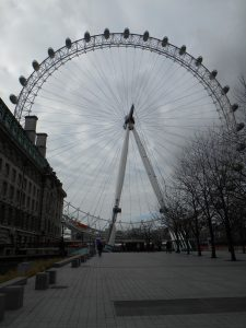 city trip London - londen eye