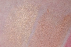 Vapour Organic Beauty Highlight Bronzer Swatches
