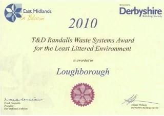 Bloom Certificate