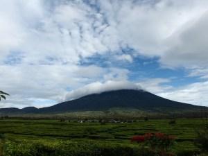 Highest Volcano in Indonesia