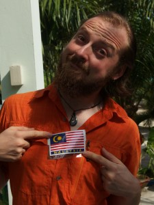 We have a spare Malaysia flag sticker ... any takers?