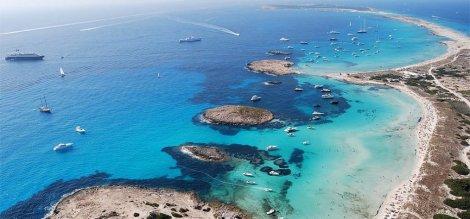 carta de barco a vela Ibiza