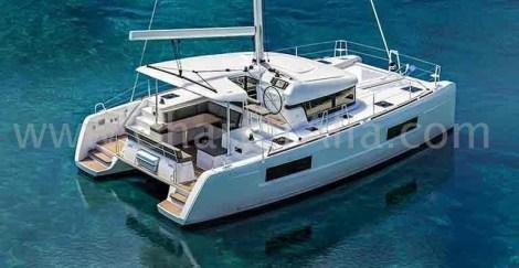 barco modelo para alugar em Baleares Lagoon 40