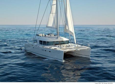 catamara Lagoon 560 sailing