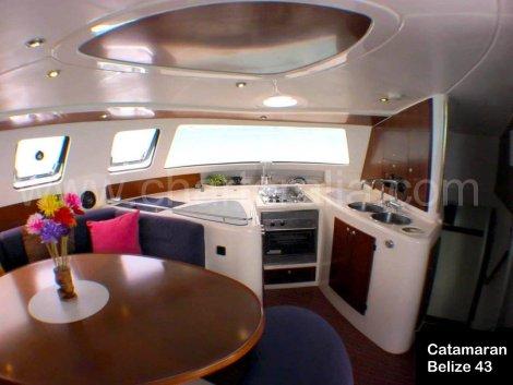 salao de catamara e cozinha Belize 43