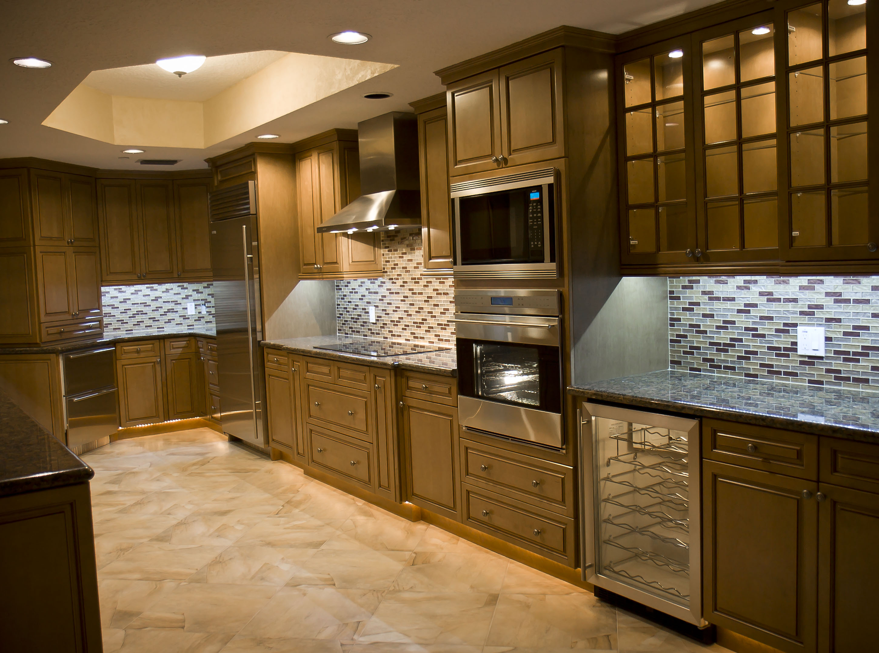 tampa bay high-end kitchen remodel photos | custom home building