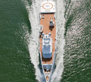 Yacht Sea Axe Fast Support Vessel GARCON 4 ACE A Damen
