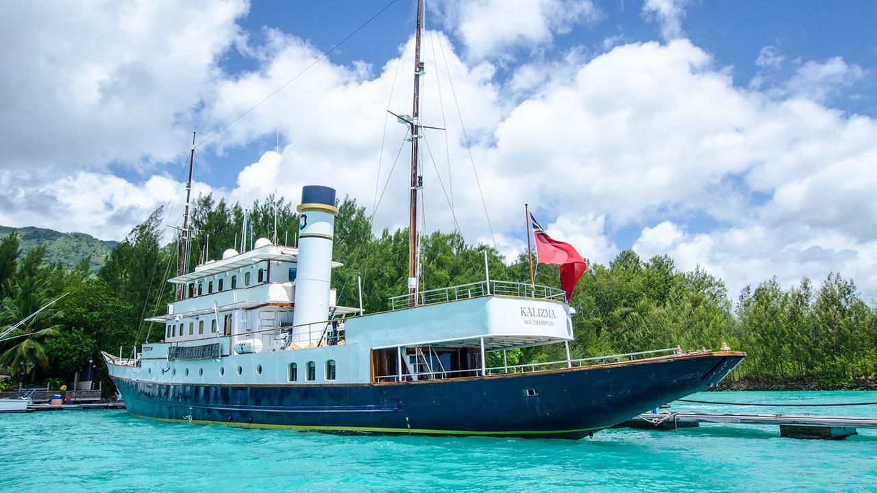 KALIZMA Yacht Charter Details Ramage Amp Ferguson