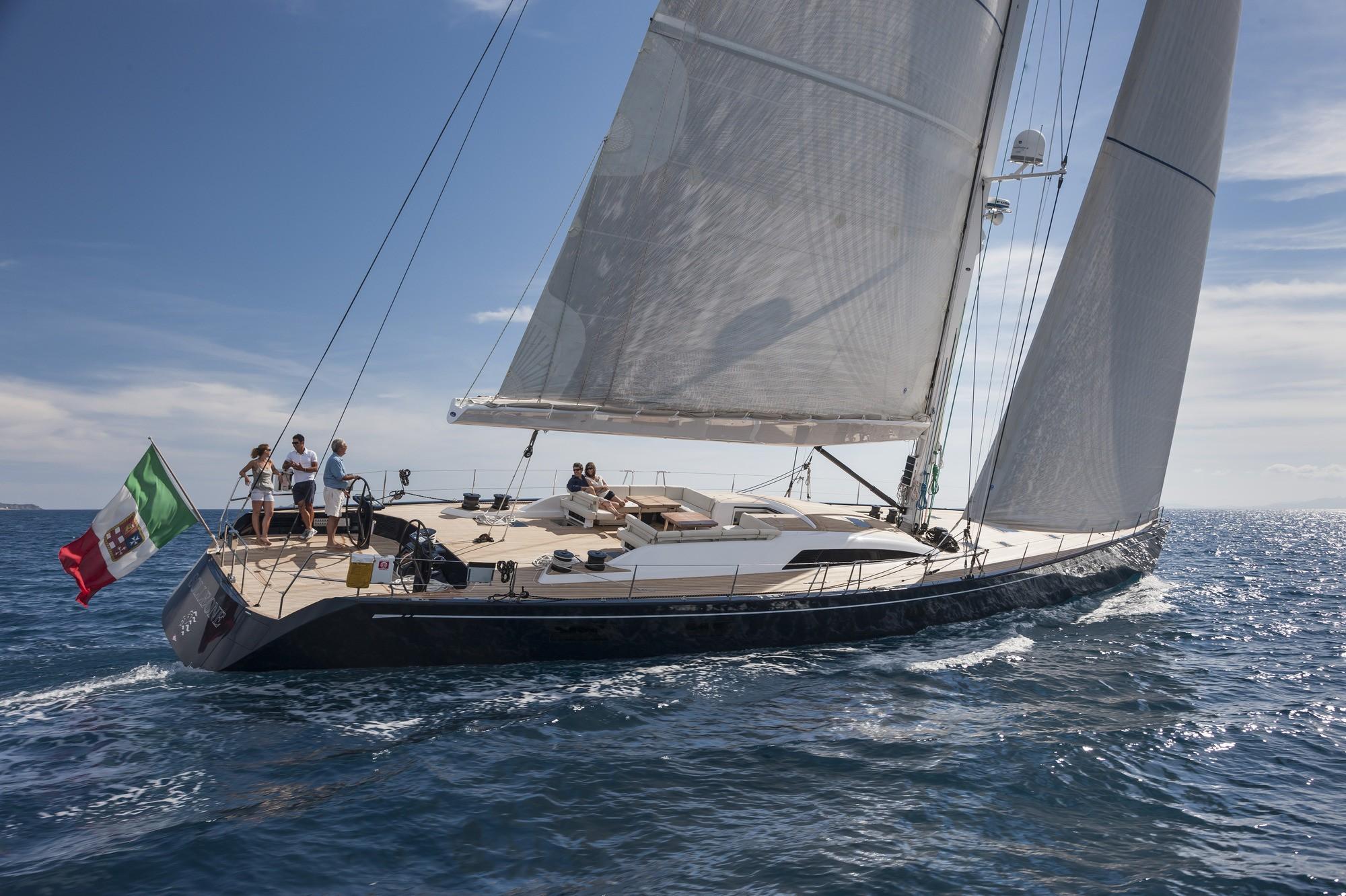 SOLLEONE III Yacht Charter Details Nautor Swan