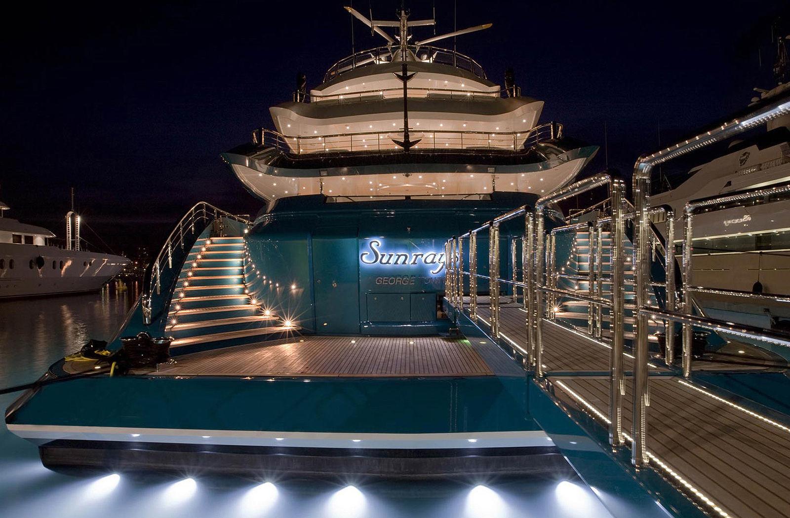 Yacht SUNRAYS Oceanco CHARTERWORLD Luxury Superyacht