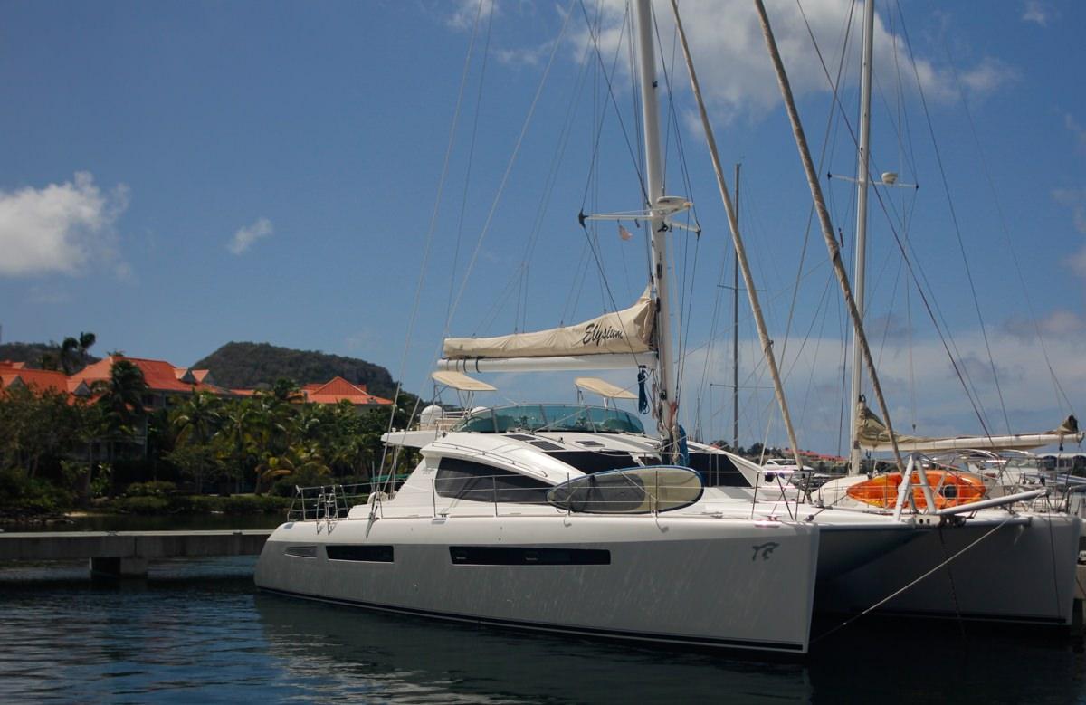 Crewed ELYSIUM Yacht Charter Details Privilege Catamaran CHARTERWORLD Luxury Superyachts