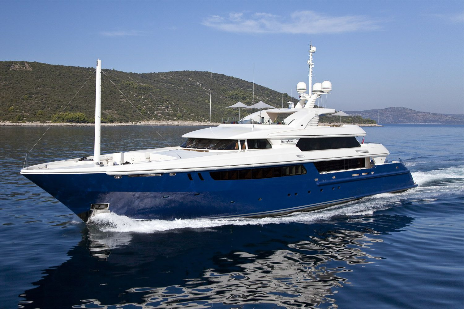 MARY JEAN II Yacht Charter Details ISA CHARTERWORLD
