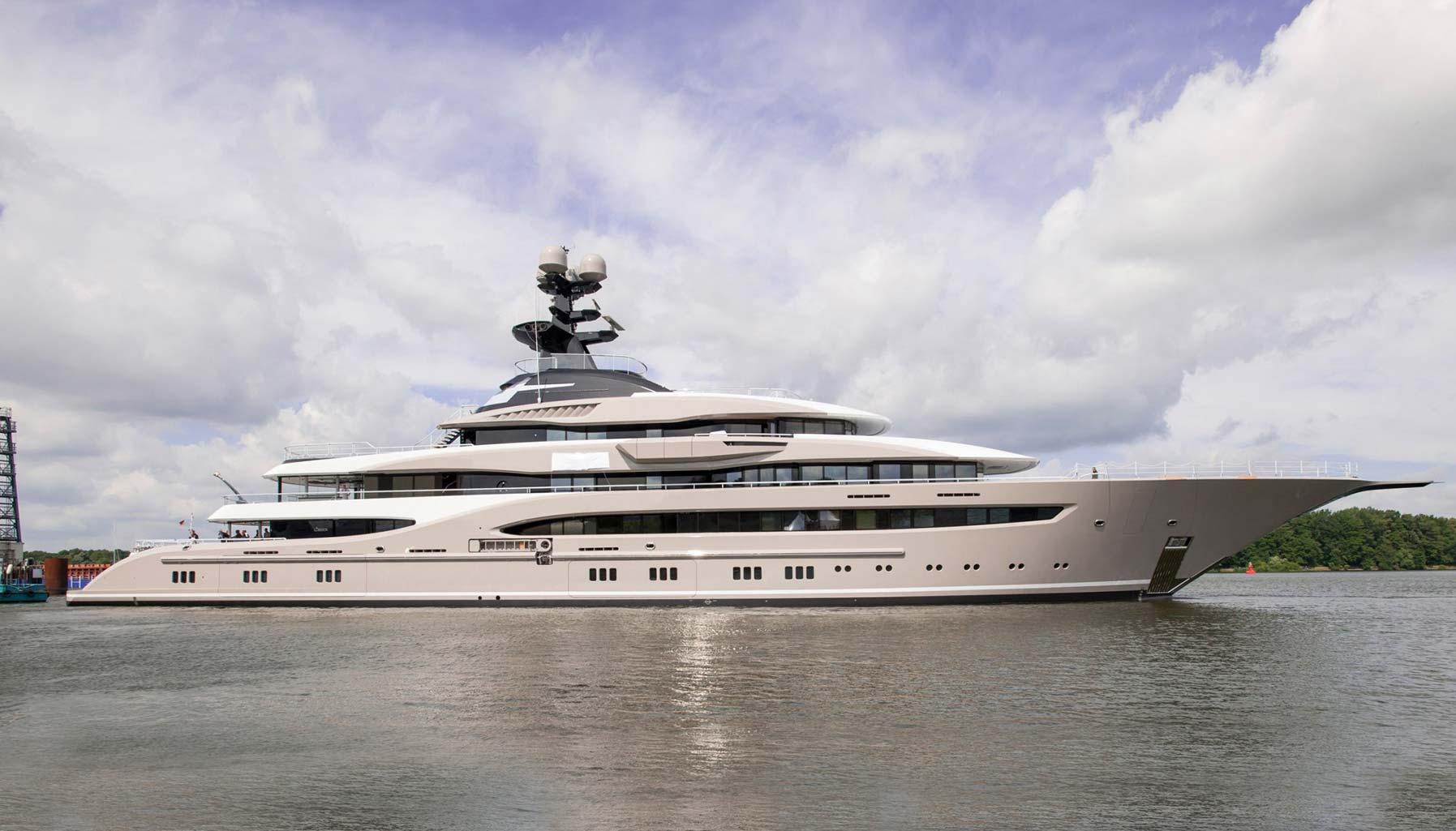 KISMET Yacht Charter Details Lurssen CHARTERWORLD
