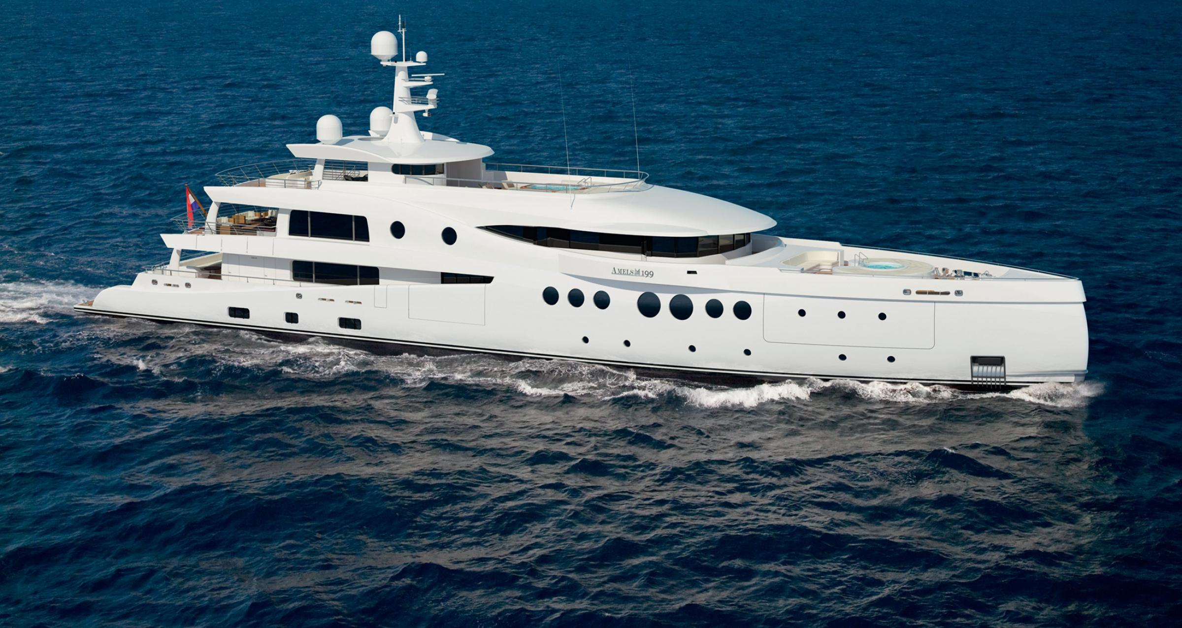 Yacht EVENT Amels Limited Editions 199 CHARTERWORLD