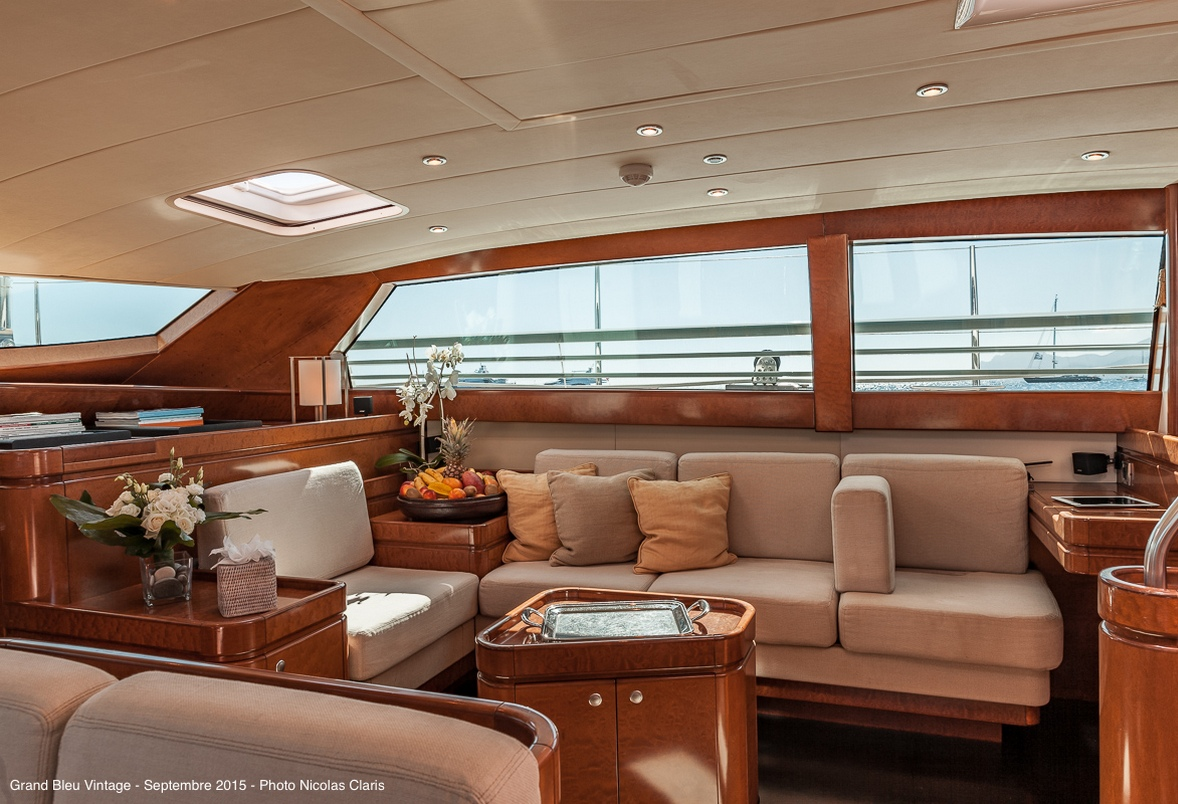 GRAND BLEU VINTAGE Yacht Charter Details CNB Yachts