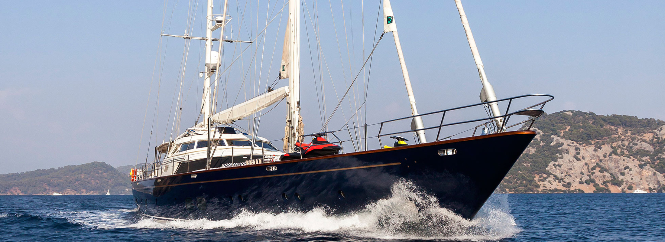 KHALEESI Yacht Charter Details Perini Navi CHARTERWORLD